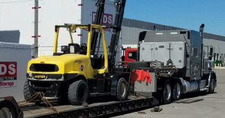 Forklift and Equipment Transport Services